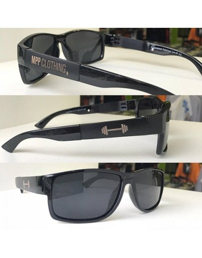MPP Sunglasses BLACK  GOLD NEW